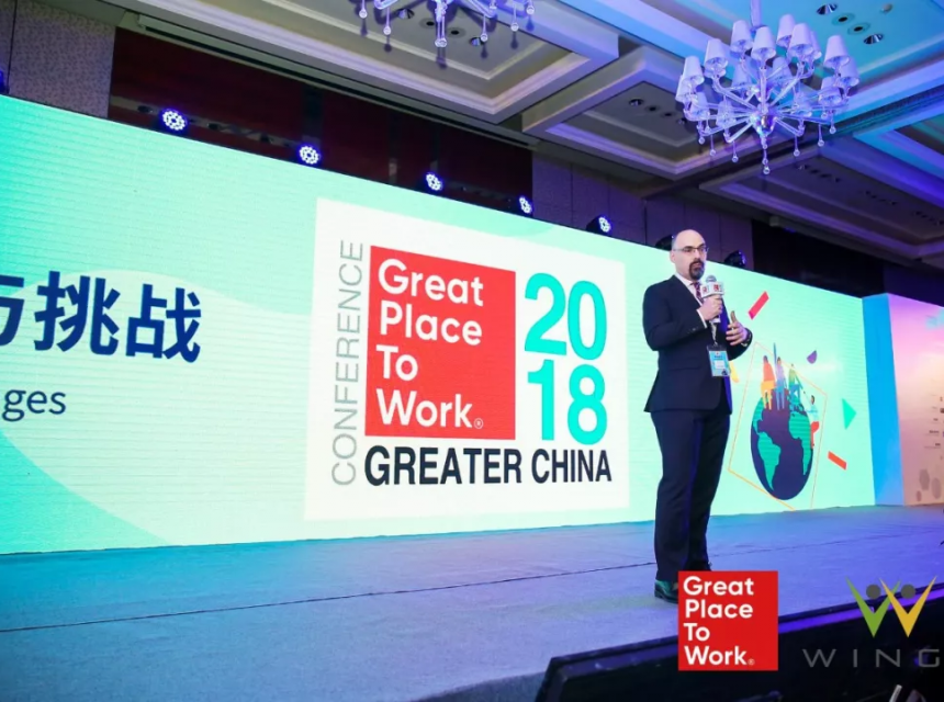 Mr.Jose Bezanilla, CEO of Great Place to Work® Institute Greater China